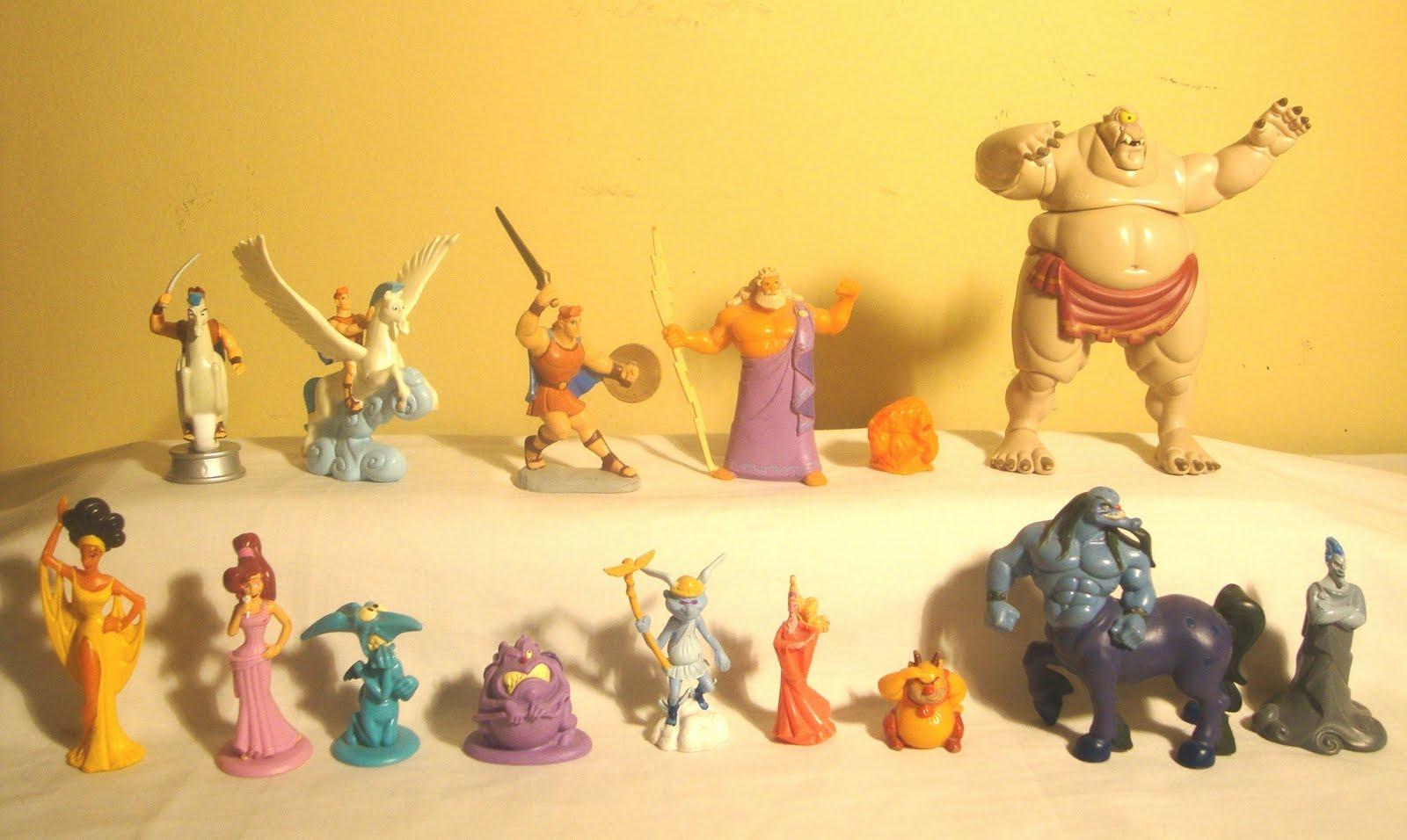 Figuras Disney. Hercules