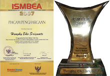 "Bakso Malang Kota ""Cak Eko"" Menerima ISMBEA AWARD 2007"
