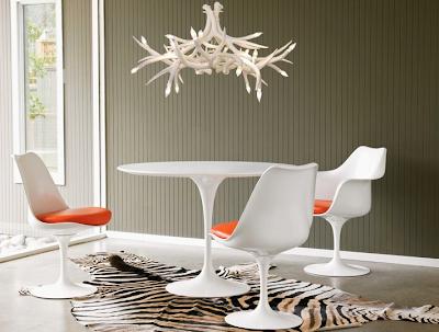 Alicia Hanson Design Blog Modern Antler Chandeliers A