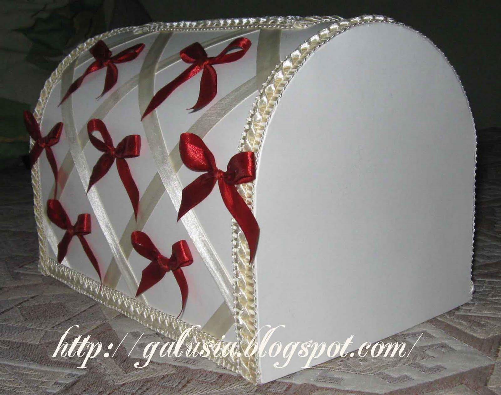 Свадебный сундук с выкройками