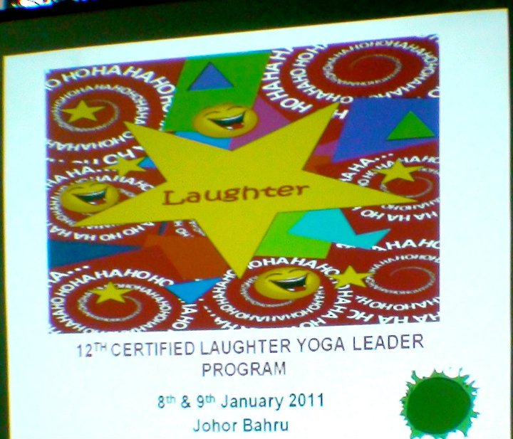 JB LAUGHERS: 8 New Laughter Yoga Leaders
