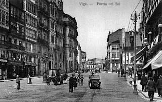 Postales y fotograf as antiguas de vigo vigo antiguo for Kilometro 0 puerta del sol