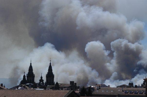 Arde Compostela