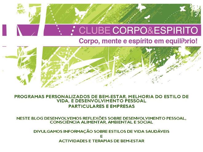 CLUBE CORPO&ESPÍRITO