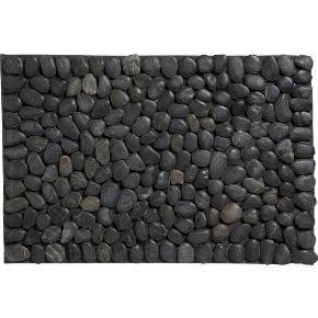 Oak lotus recession special river stone mat for River stone doormat