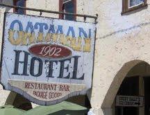 Oatman Hotel Sign