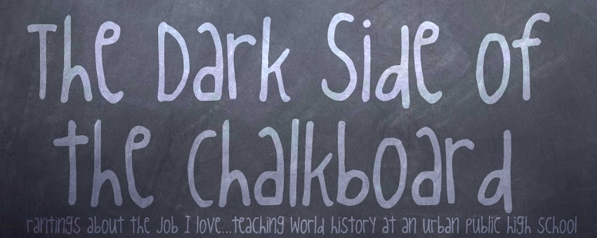 The Dark Side of the Chalkboard