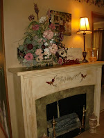 Faux Fireplace!