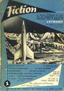 La couverture du premier numéro de Fiction