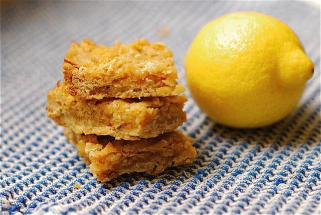 Lemon Coconut Squares for a Bake Sale {Webisode #21} - The Naptime ...
