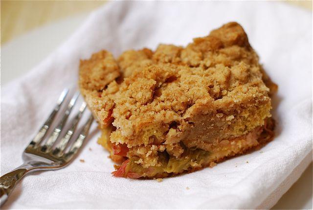 Big Crumb Rhubarb Coffee Cake {Webisode #22} - The Naptime ...