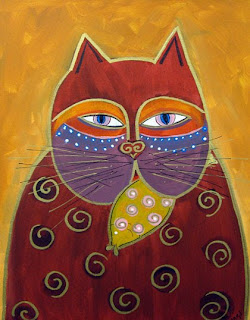 Art At Wealthy Laurel Burch Cats