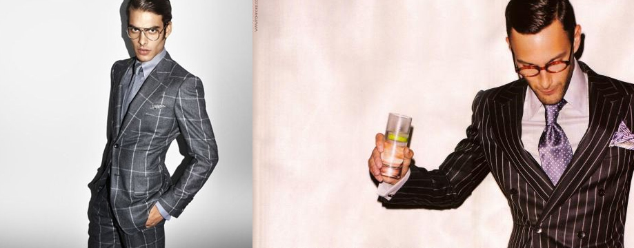 Wilhelmina Models Jon Kortajarena and Noah Mills Tom Ford ADS