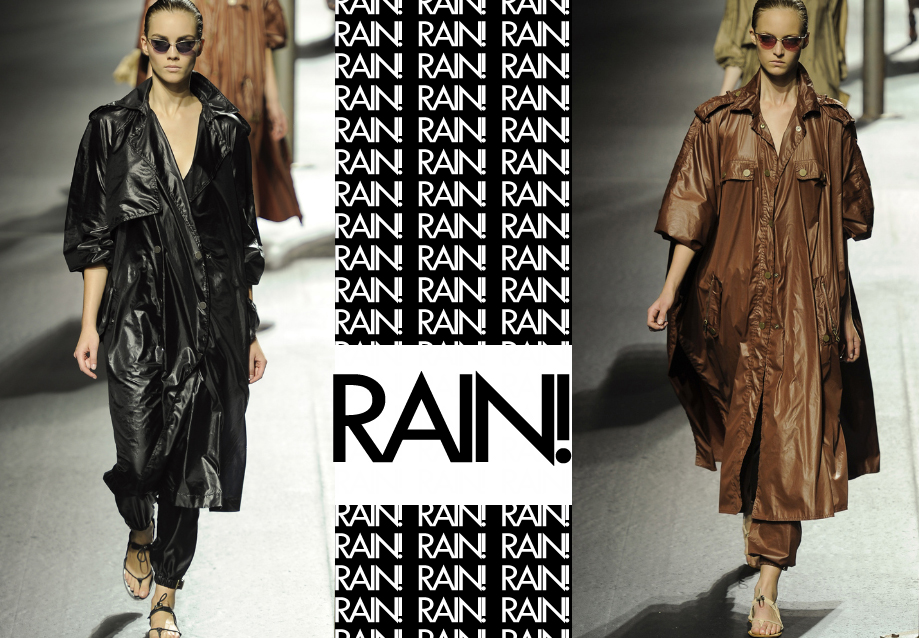 LANVIN SS 2011 flowy trench coats