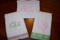 2 Burp Cloth and Bib Set