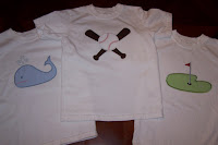 Appliqued Set for a Boy
