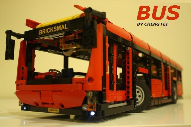 Boris Bricks Bus Moc