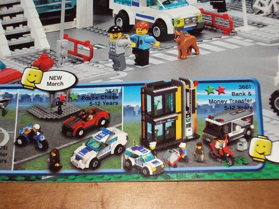 Boris Bricks: LEGO CITY #3648 & #3661