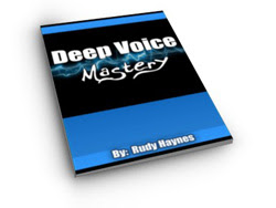 Deep Voice Mastery Course, deepen your voice, good voice deepening program book, manual