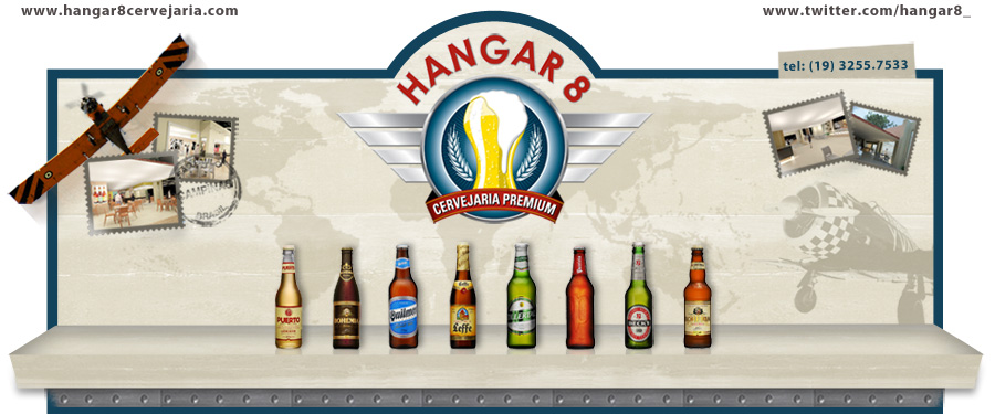 Hangar 8 - Cervejaria Premium