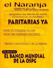 PARITARIAS YA - Noviembre 1996