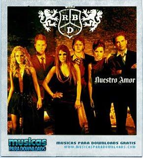 Capa RBD – Nuestro Amor | músicas