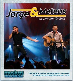 Capa Jorge e Mateus – Ao Vivo em Gôiania | músicas