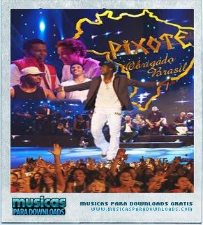 Capa Pixote – Obrigado, Brasil  | músicas