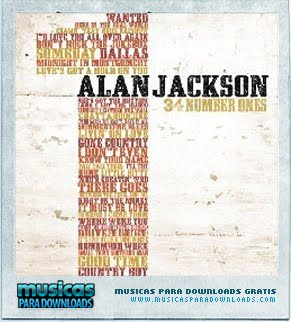 Capa Alan Jackson   34 Number Ones (2010) | músicas