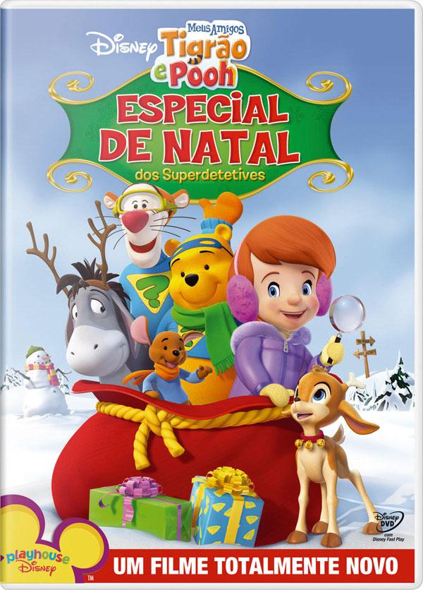 Meus Amigos Tigrão e Pooh : Especial de Natal dos Superdetetives   Dublado