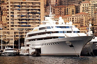Luxury Yacht Lady Moura Most Expensive Yacht World