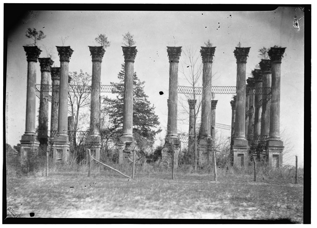 The Architecturalist Windsor Ruins Claiborne County