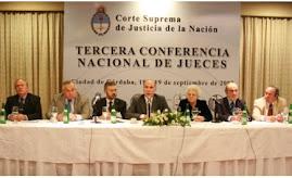 CONFERENCIA NACIONAL DE JUECES - REP. ARGENTINA