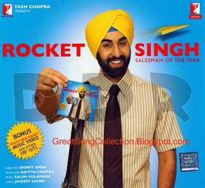 Rocket Singh (2009) Hindi Movie Mp3 Songs Download