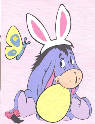 Done By Diane Eeyore Easter Card