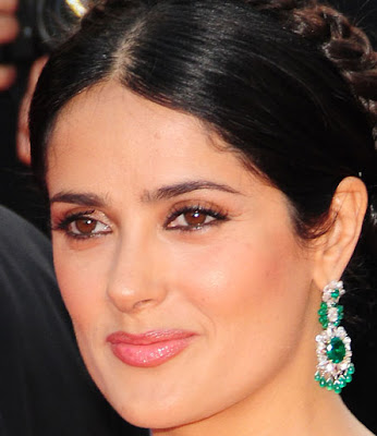 salma hayek husband and daughter. hair salma hayek husband.