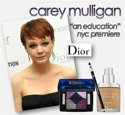Carey Mulligan at the New York premiere of An Education