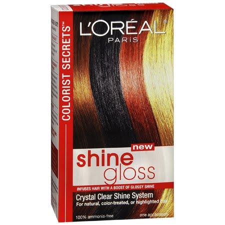 l oreal colorist secrets shine gloss beauty addict