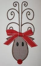 Rudolph Applique (Bow is Optional)