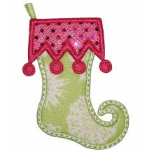 Elf Stocking Applique