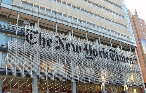 Man Climbs New York Times building 'To Get Copy Of Newspaper'