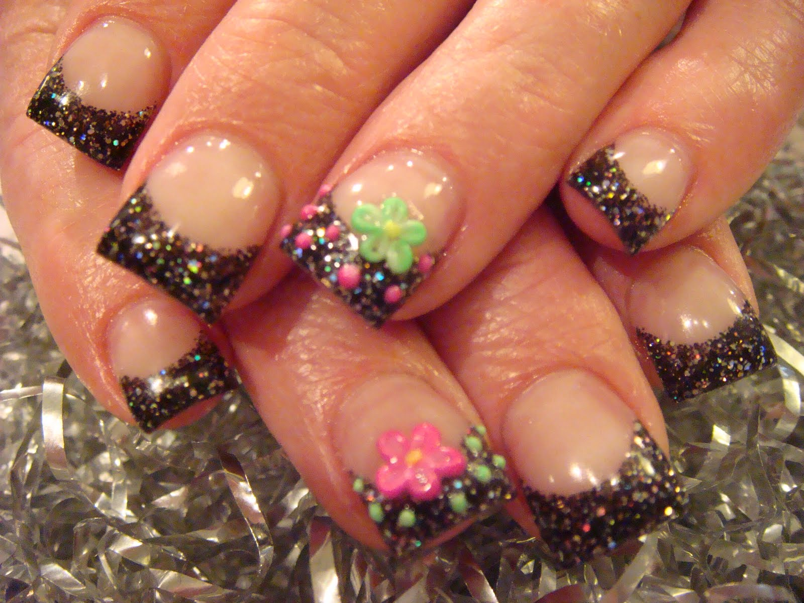 cute acrylic nail designs - photo #37