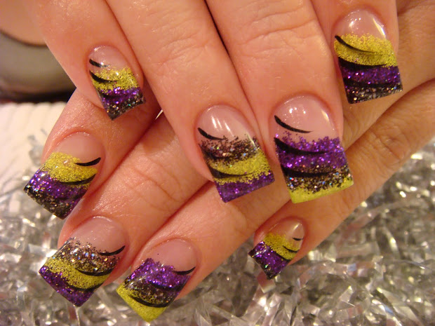 nail art halloween nails &