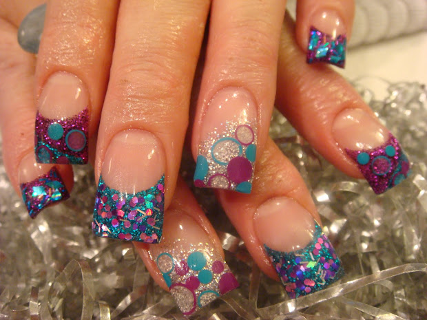 cute christmas nails 2010