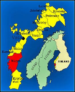 Finlandskarta
