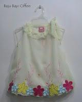 Putri busana, Baju bayi ciffon
