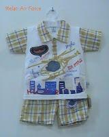 Stelan baju bayi Air Force, Putri Busana