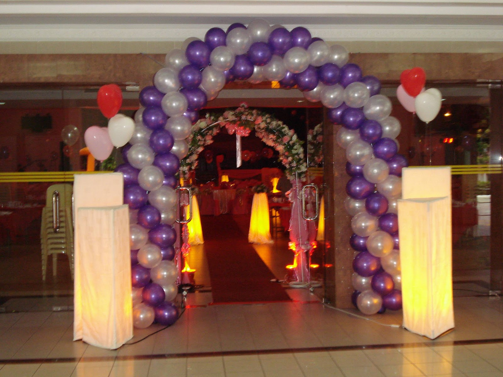 Fly design collection wedding hall decoration for Decoration hall