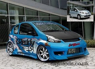 Airport Acura on Extreme Car To Car  Toyota Aygo Modification