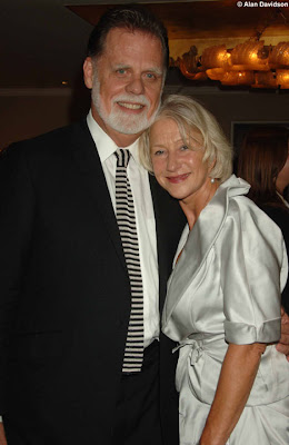 Helen Mirren chides Taylor Hackford for flirting with a wax figure